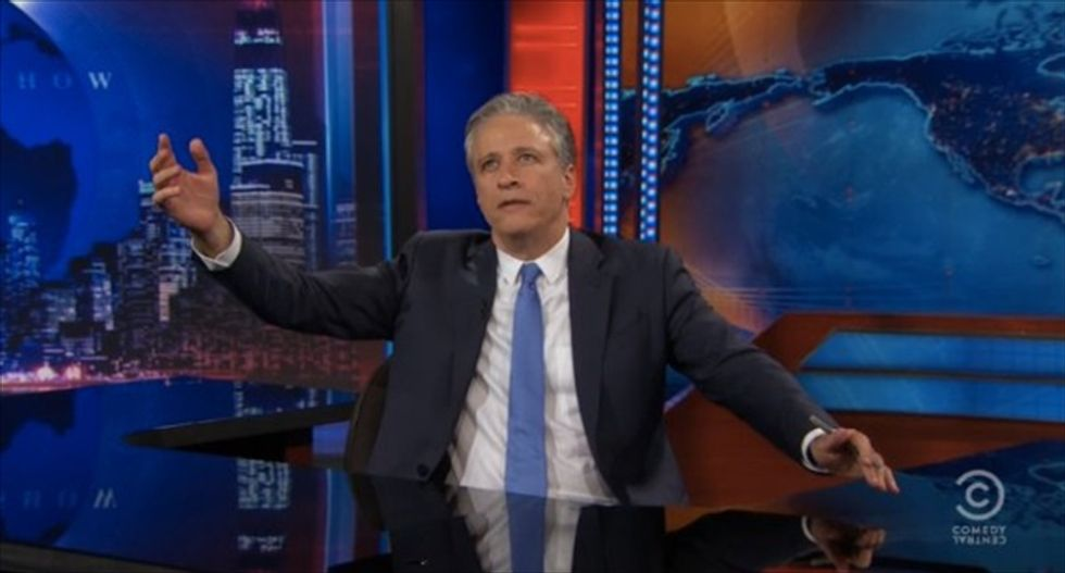 Jon Stewart tells viewers to call out lying lawmakers: 'The best defense against bullsh*t is vigilance'