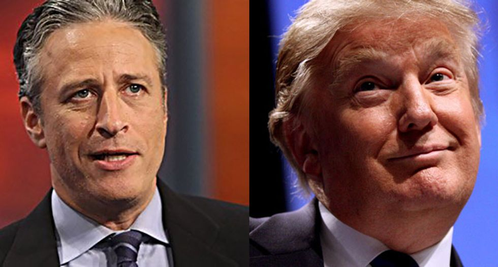 Jon Stewart is dead and Trump is alive. Why did the left help the bullsh*tters win?