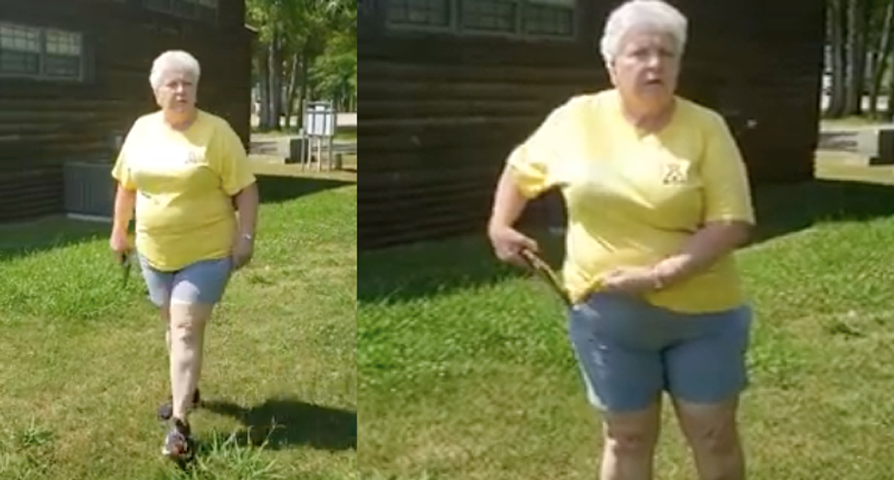 Gun-toting 'Kampground' employee threatens Black couple spending a day in the park