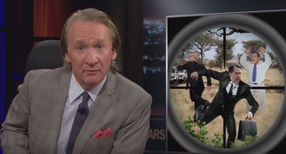 Bill Maher rips Big Money's political influence: For that kind of cash, they should get to hunt candidates