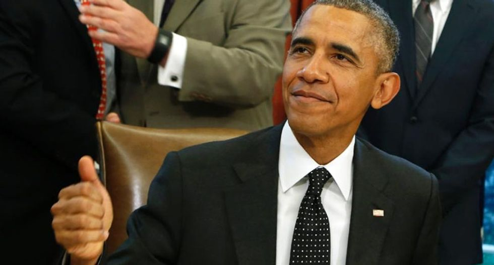 Conservatives in Iran parliament chant 'Death to America' over 'Obama handshake'