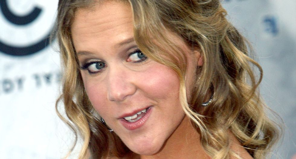 Money at the heart of US gun control problem, says Amy Schumer