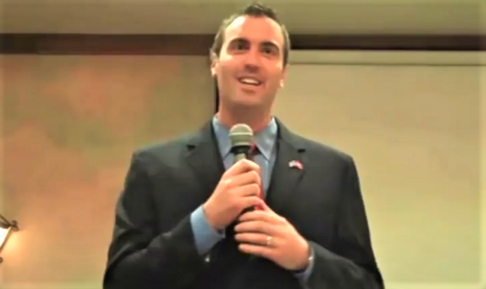 Ex-Tea Party candidate comes unglued at anti-gun vets: Surviving Iraq was 'the last great thing they did in this life'