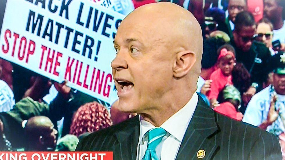 CNN's ex-cop shouts down black activist over latest Ferguson shooting: 'Michael Brown was a criminal!'