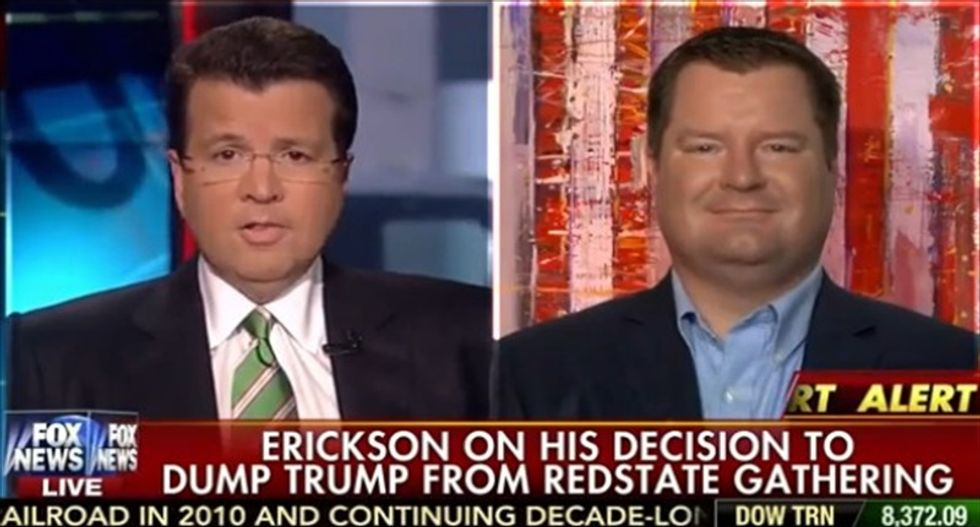 Erick Erickson: The difference between my sexist remarks and Trump's is I'm not running for president