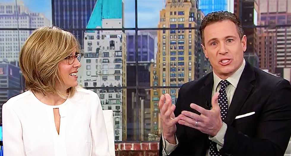 Chris Cuomo mocks Trump's 'flip-flop' on border wall: 'It was always about playing to the crowd'