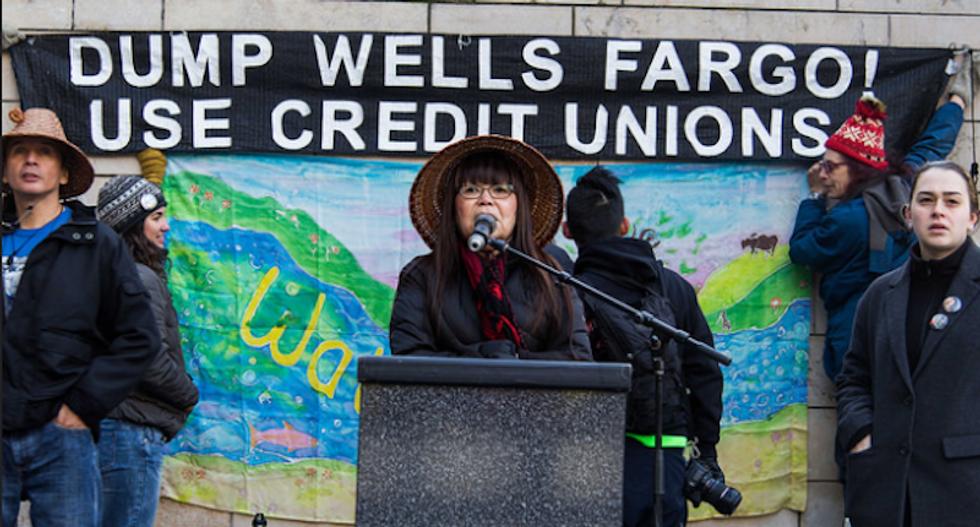 US cities pull $3 billion out of Wells Fargo over funding of Dakota Pipeline