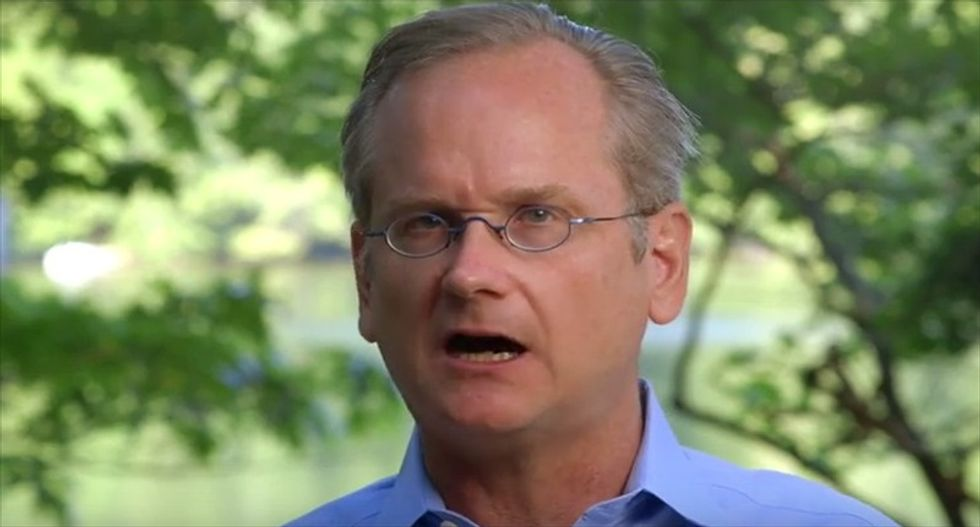 Harvard professor Lessig teases 2016 run to push Dems to fix campaign finance once and for all
