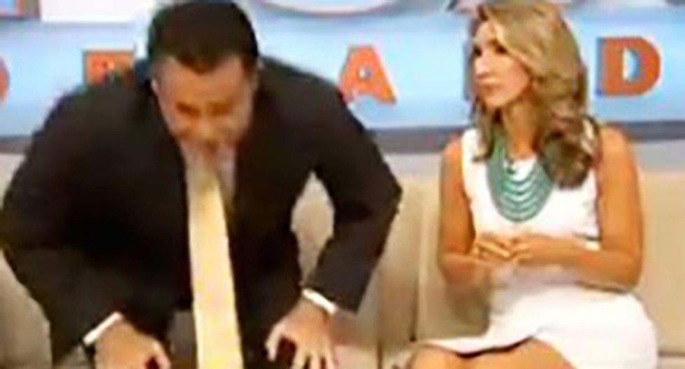 TV anchor snaps, storms off set after too many Kardashian stories