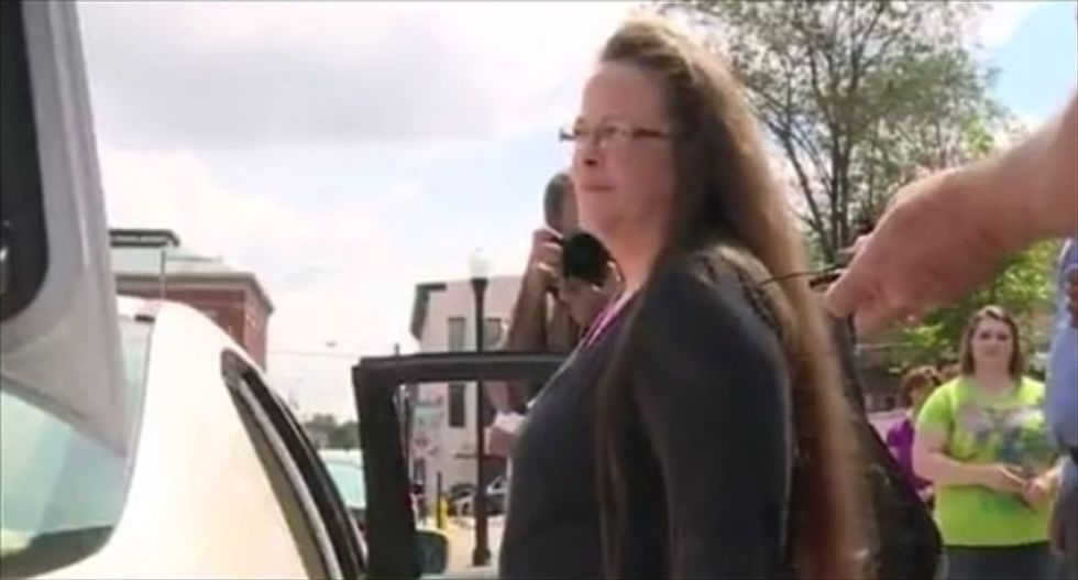 Federal judge orders Kentucky clerk to issue marriage licenses to same-sex couples
