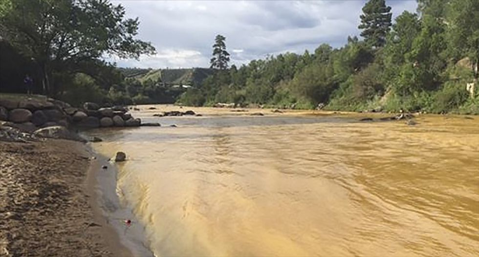 EPA officials say Animas River water safe to drink again after toxic spill