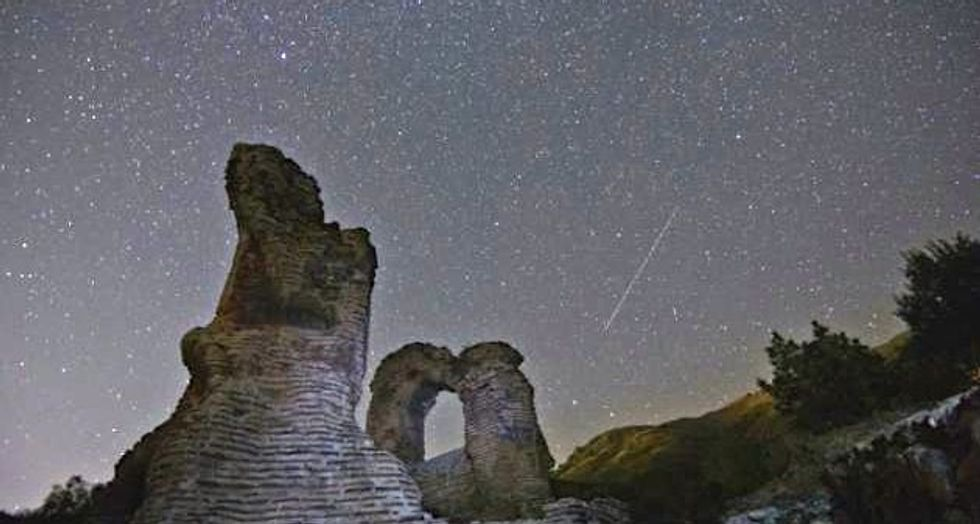 It's showtime for Perseid meteors