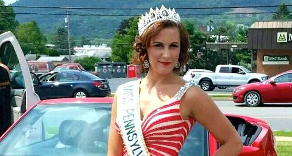 Pennsylvania beauty queen accused of faking cancer for donations