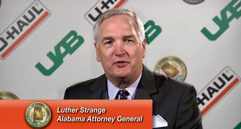 Alabama attorney general appointed to Jeff Sessions' Senate seat