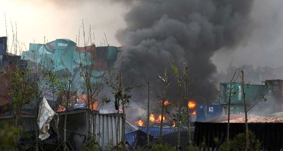 Chinese media: Massive Tianjin explosion killed 17 people and injured 400 others