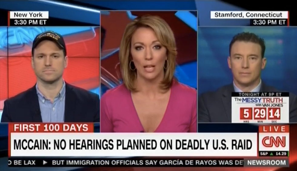Former Navy SEAL gets nasty on CNN by questioning John McCain and anti-Trump veteran's service