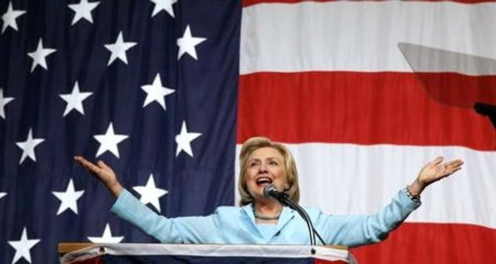 Clinton points to Social Security changes in AFL-CIO questionnaire
