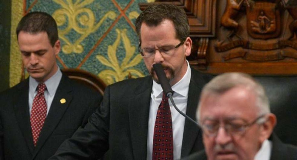 Michigan Republican will stand trial for trying to cover up affair with fellow legislator