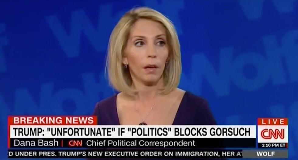 Dana Bash slams Trump's feud with Connecticut Senator: 'Kids in high school act more mature'
