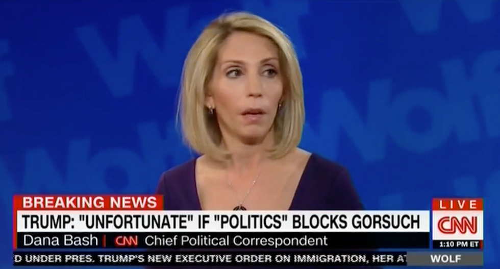 Dana Bash slams Trump's feud with Connecticut Senator: 'Kids in high school act more mature'