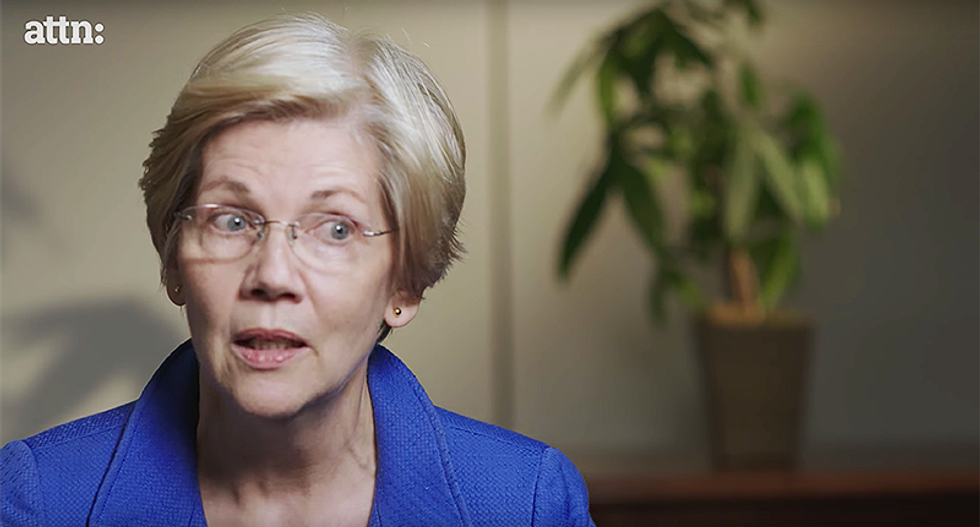 Warren suggests Trump may be behind bars during 2020 election: 'He may not even be a free person'