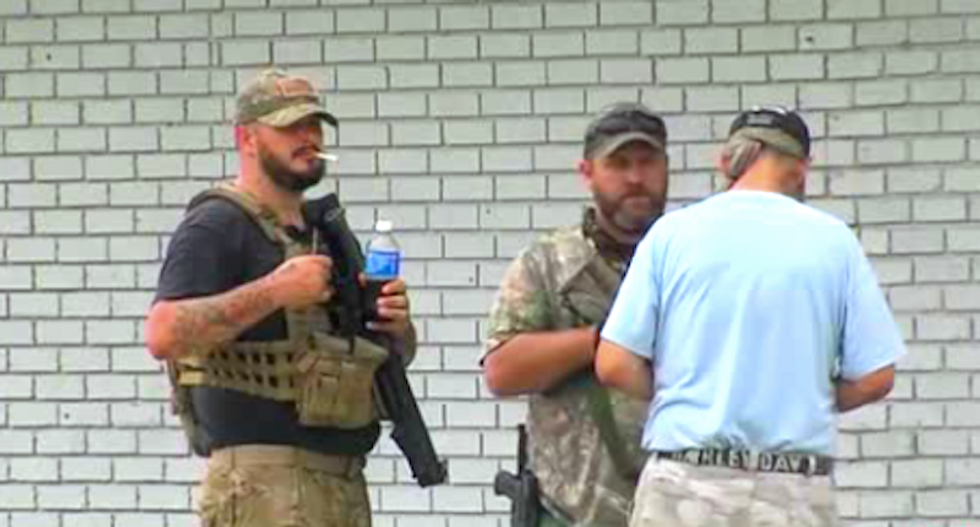 Man accidentally shoots himself at Oklahoma 'Muslim-free' gun range: 'The Clampetts have come to town'
