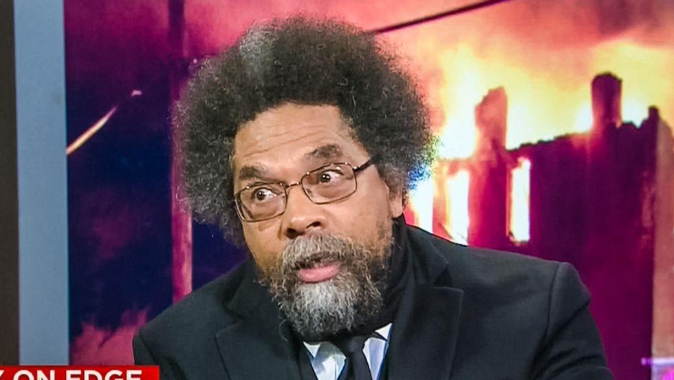 Cornel West urges black voters to back Bernie Sanders in op-ed slamming Clintons for Wall Street ties
