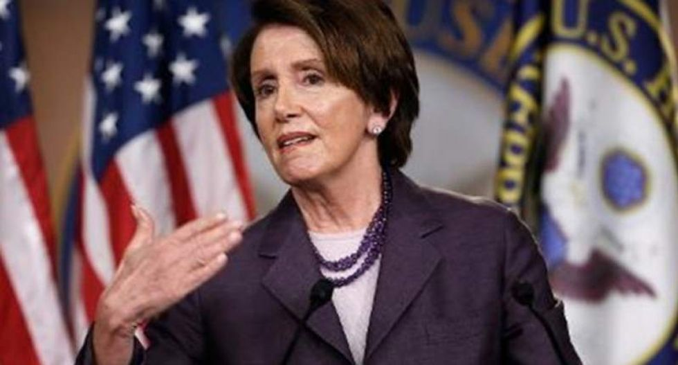 House Democratic leader Nancy Pelosi blames Russians for 'electronic Watergate'