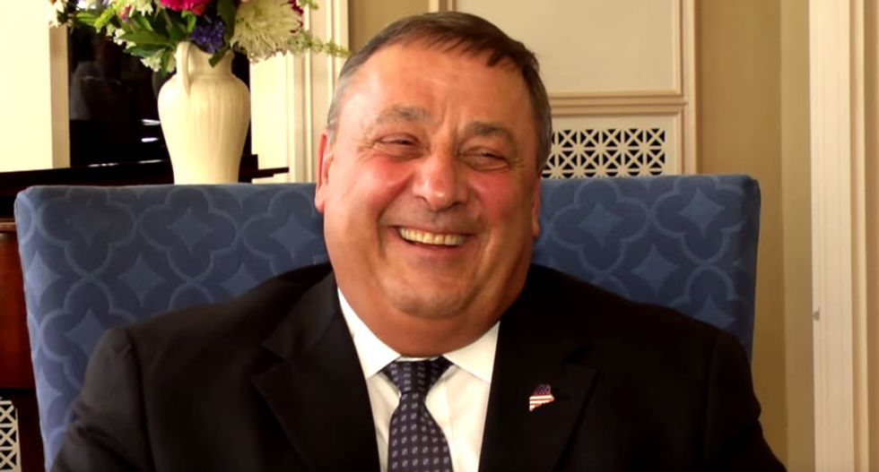 Maine's Tea Party Gov. Paul LePage to voters: 'You don't have to impeach me' — I'll quit if you want