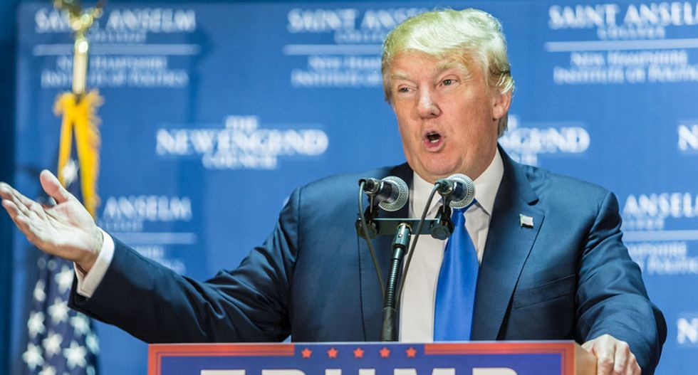 WATCH LIVE: President Donald Trump talks at the annual National Prayer Breakfast