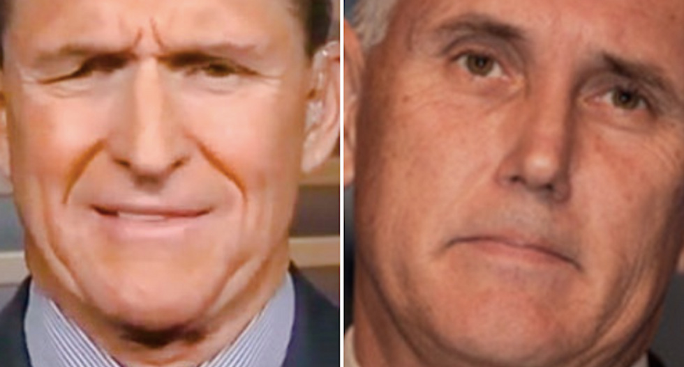 Trump's security advisor Mike Flynn may have lied to VP Mike Pence about Russian talks: report
