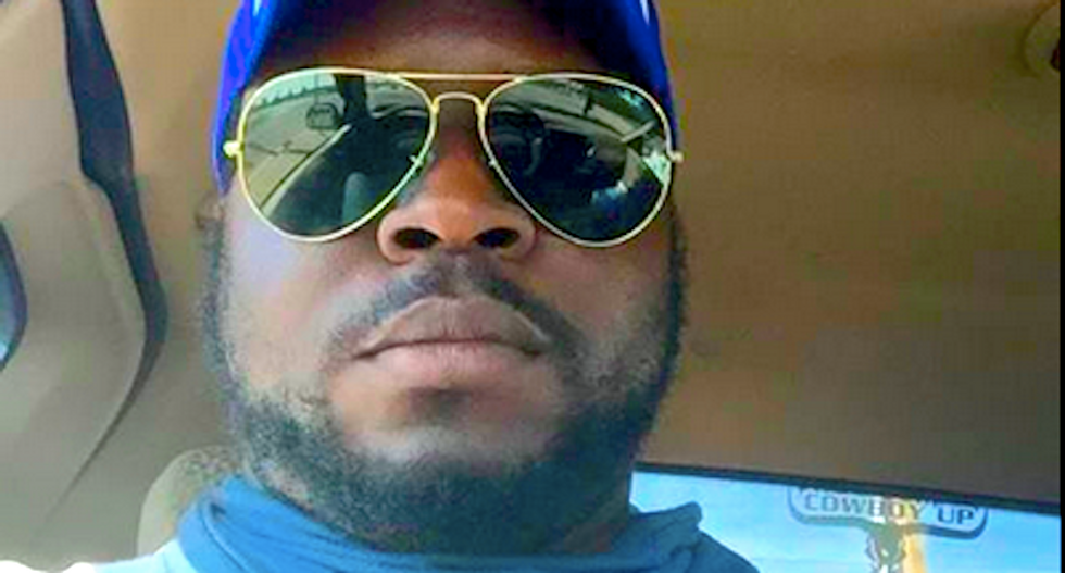 'N*****s are on the prowl': Black trucker organizing flag rally is just as racist as his Confederate buddies