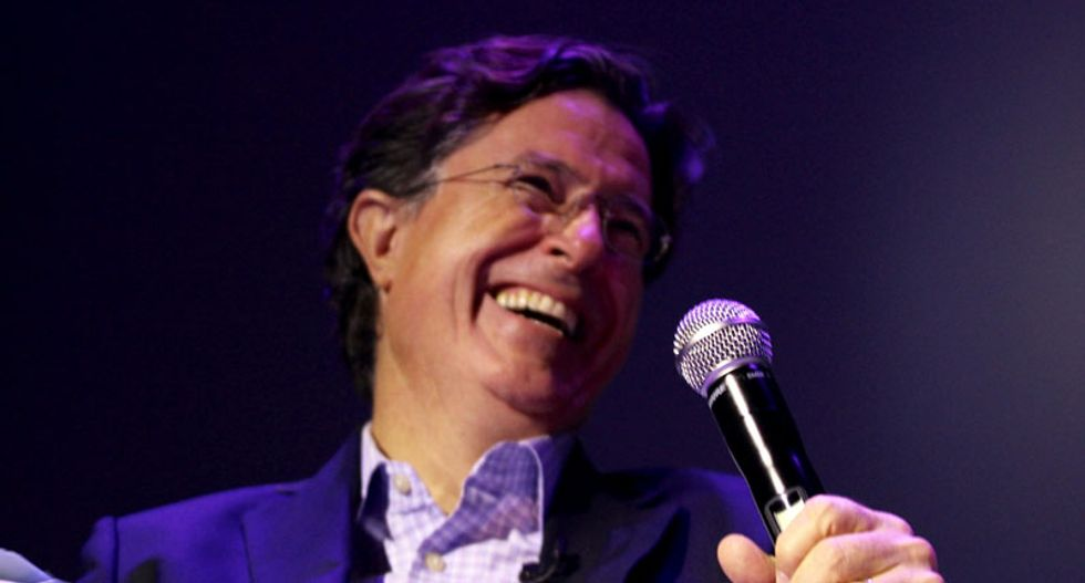 Stephen Colbert announces eclectic guest list for first week on Late Show