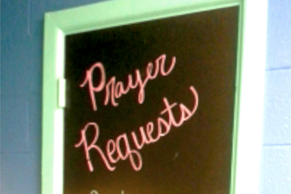 Mississippi teacher refuses to take down 'Prayer Request' board — even though she knows it's illegal