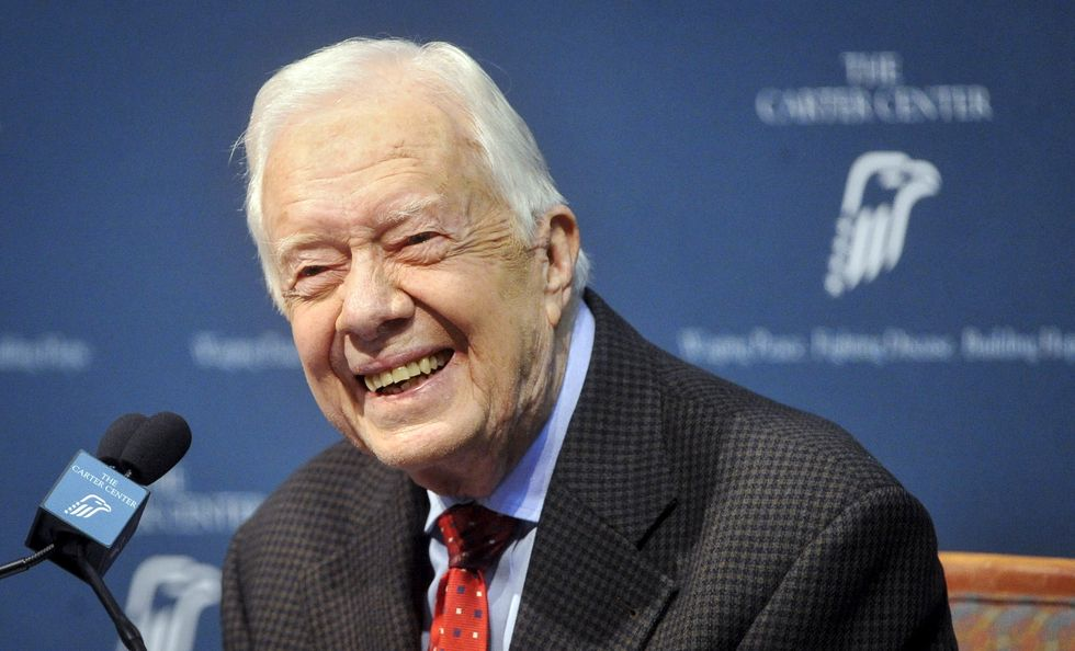 Overflow crowd packs former President Carter's Sunday school class on weekend after cancer announcement