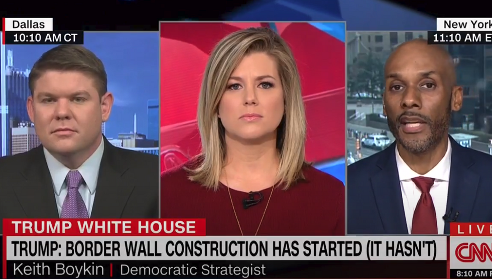 CNN's Keith Boykin nails Trump supporter over wall funding: 'Taxpayers are on the hook for his fake promise'