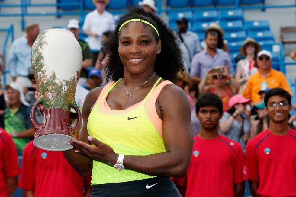 Serena Williams captures 2nd straight Cincinnati title