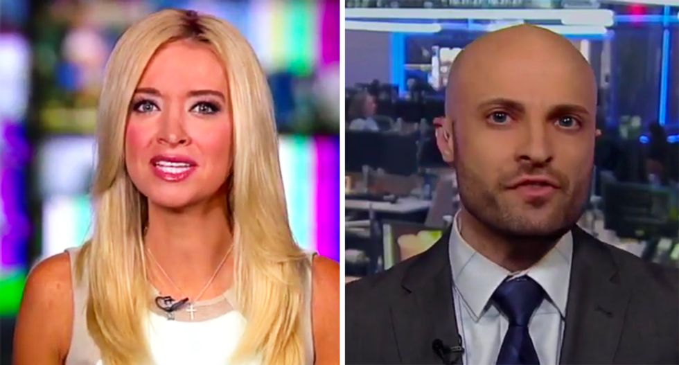 RNC's Kayleigh McEnany comes unglued after Dem strategist calls Trump 'unhinged' for trashing South Korea