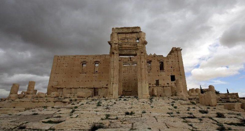 Islamic State jihadists blows up ancient Baal Shamin temple in Palmyra