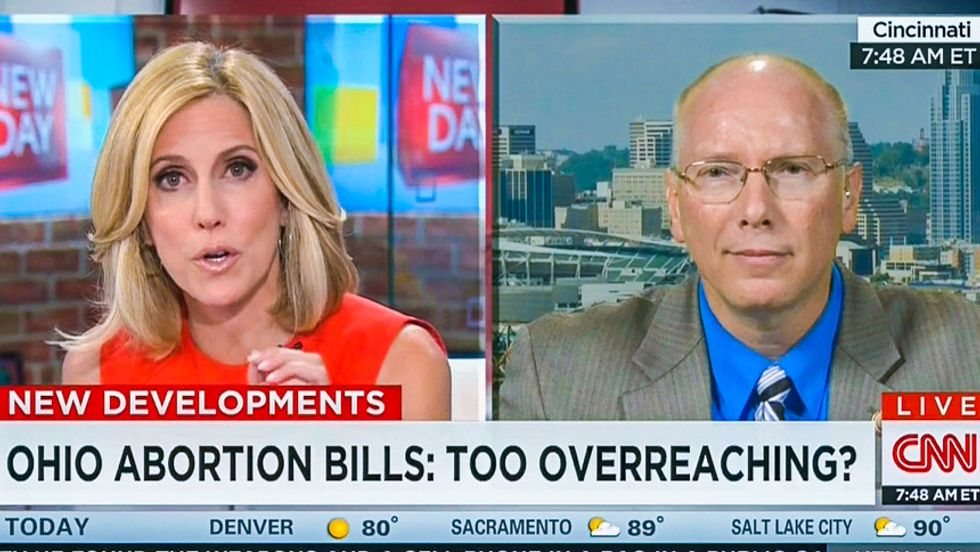 CNN host to anti-abortion GOPer: 'Where does it stop' if you can force us to carry Down Syndrome fetuses?