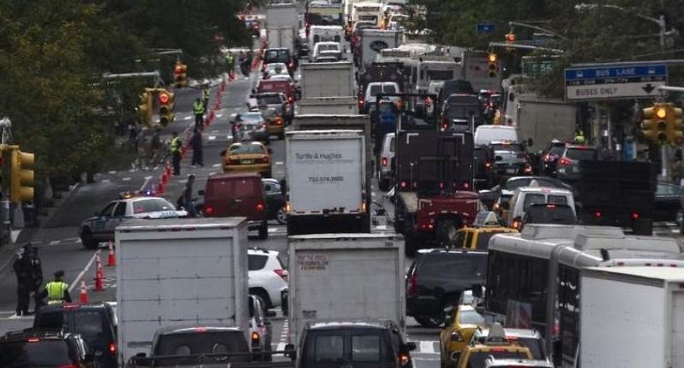 Bumper-to-bumper nation: US commuters spend about 42 hours a year stuck in traffic jams