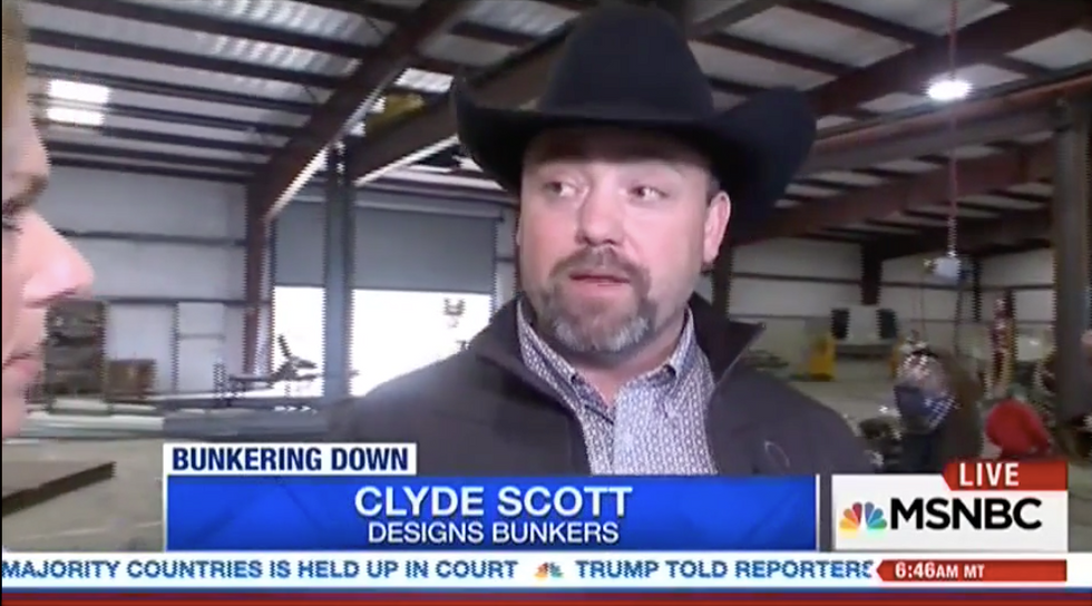 'This is the doomsday scenario': Sales of survival bunkers jump '500 percent' since Trump took power