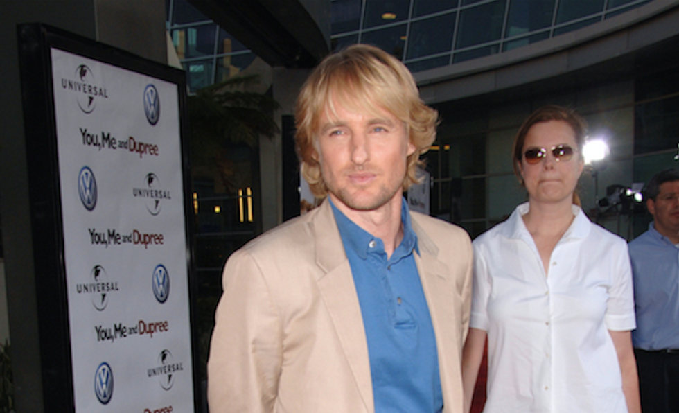 Owen Wilson says he 'gets a kick' out of Donald Trump -- the 'Charlie Sheen' of politics
