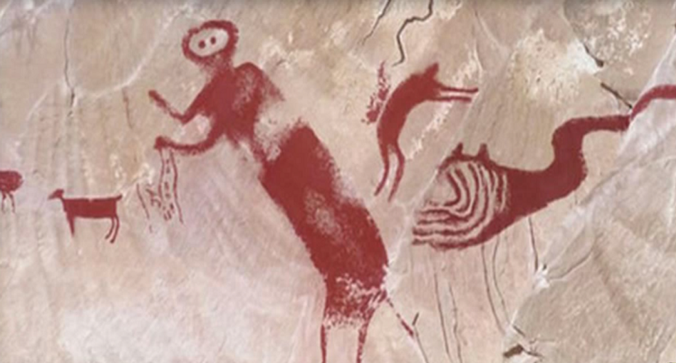 Sorry creationists — your favorite cave painting meme does not prove humans and dinosaurs co-existed