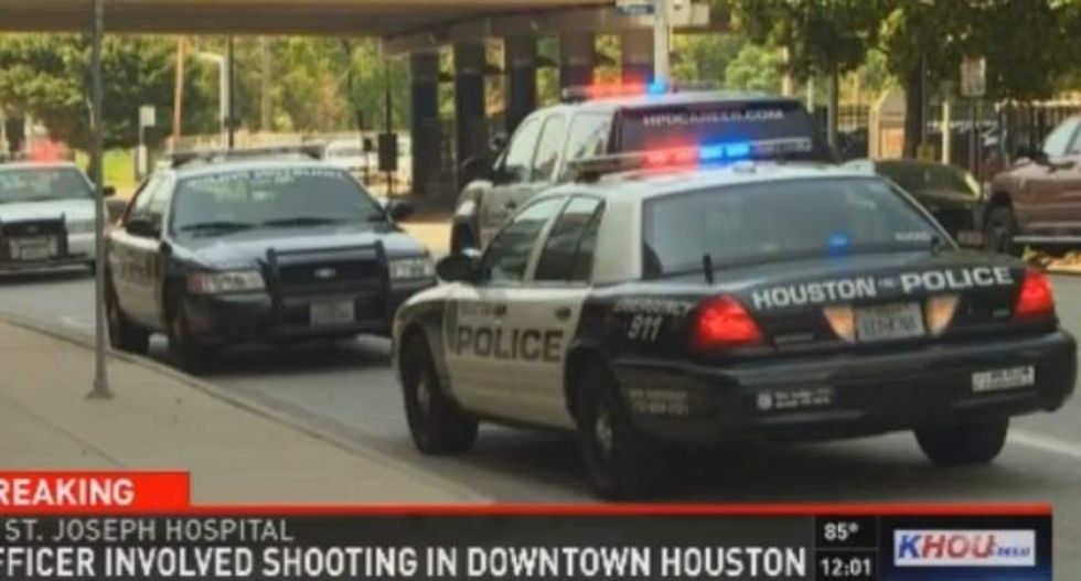 Houston cop moonlighting as hospital security shoots patient during struggle