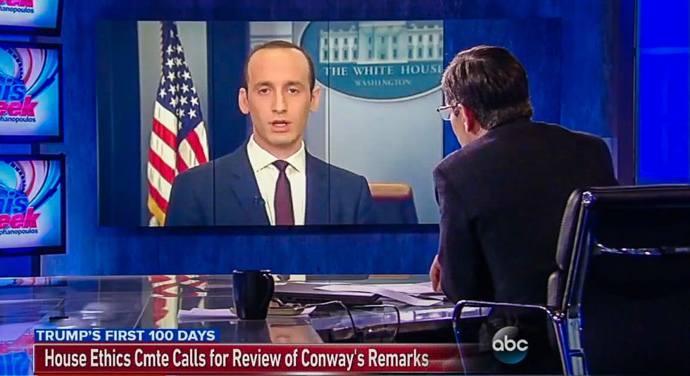 Trump aide Stephen Miller: What Sean Spicer says is 'true and important' and 'always 100% correct'