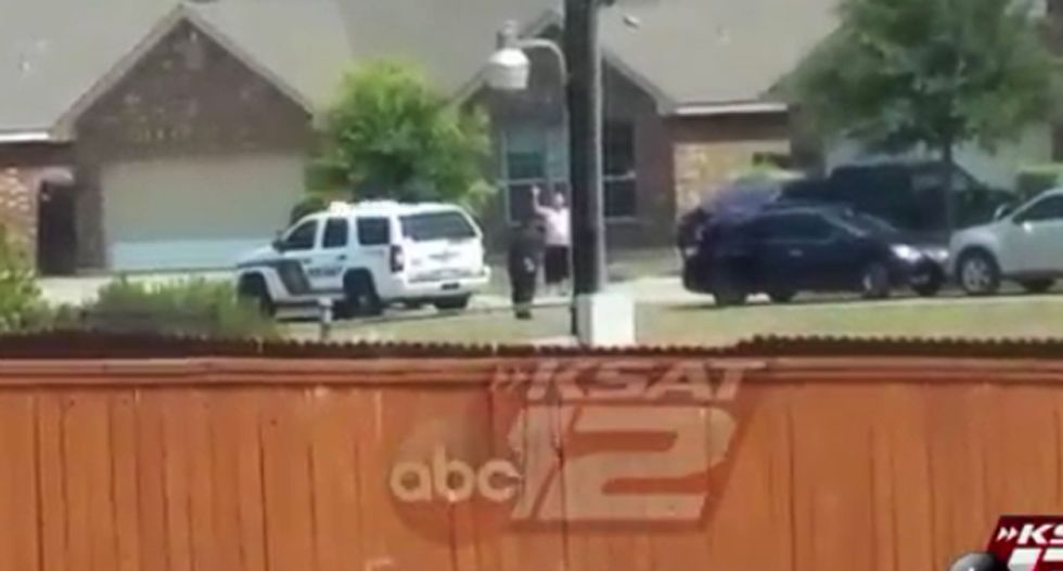 WATCH: Video appears to show man with hands up before Texas officers shoot him dead