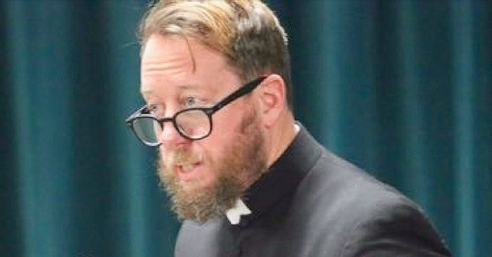 Priest who urged women to cover their shoulders to protect men's 'purity' calls Twitter 'demonic' – wipes account