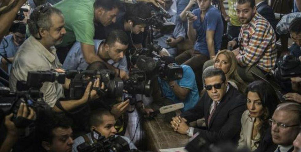 Egyptian court sentences Al-Jazeera reporters to three years in jail in shock ruling