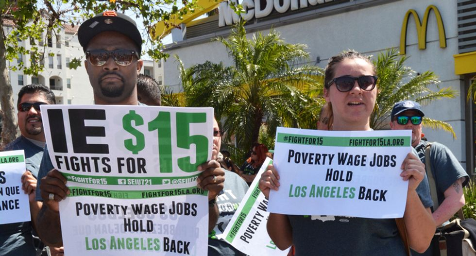 The 'Fight for $15': It's not just about raising wages at McDonald's, it's about a living wage for everyone